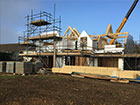 Two new build houses - Rickling Green