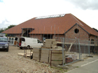 New sports hall - 2 - Construction